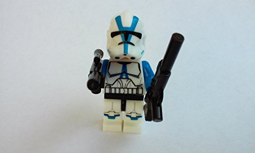 KorgisCollectibles 501st Legion Clone Trooper Minifigure Custom Building Block Toy For (501st Legion Trooper)