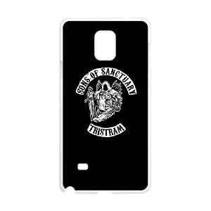 Samsung Galaxy Note 4 Cell Phone Case White Sons of Anarchy R2946571