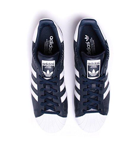 adidas Superstar, Zapatillas para Hombre Blu (Conavy/Ftwwht/Conavy)
