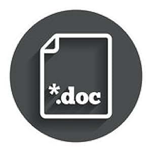 alfombrilla de ratón Presentar documento icono. Descargar botón doc. - ronda - 20cm