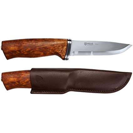 Amazon.com: Helle Alden fixed-blade cuchillo, 105 mm, Madera ...