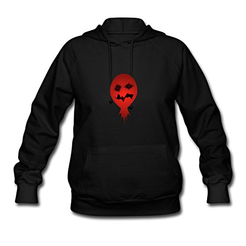 Haha-Go Women's Halloween Dark Character Costume Hoodie Sweatshirt Black (Character Inspired Halloween Costumes)