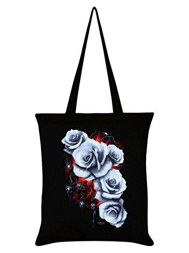 Fading Beauty Black Tote 38x42cm Requiem Collective Bag 0x5qwUCTC