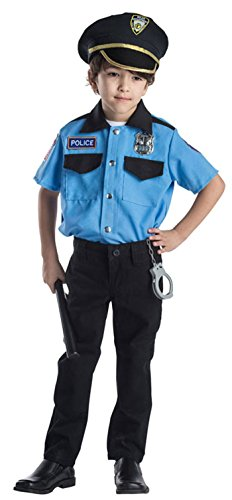 Deluxe Police Chief Role Play Set Costume for Kids By Dress Up America - Ages -