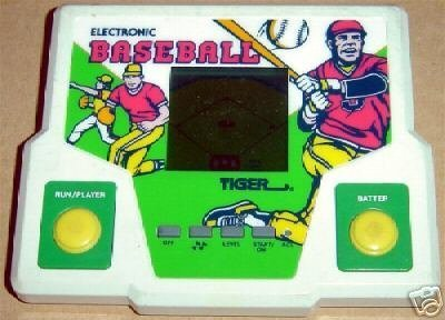 Tiger Electronics Electronic Baseball LCD Game