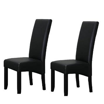 kunstleder schwarz essst hle m belideen. Black Bedroom Furniture Sets. Home Design Ideas