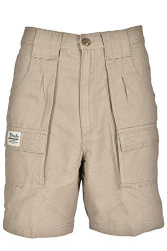 Bimini Bay Outfitters Outback Hiker Cotton Cargo Short 31201 Khaki 34
