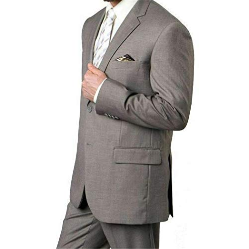 tton Classic Fit Suit New (52L/46Waist Regular) ()