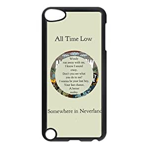 iPod Touch 5 case,All Time Low Hard Plastic Case for iPod Touch 5/5th Generation,iPod Touch 5th Generation Case,apple iPod Touch 5 cover Skin protector(Black/White)