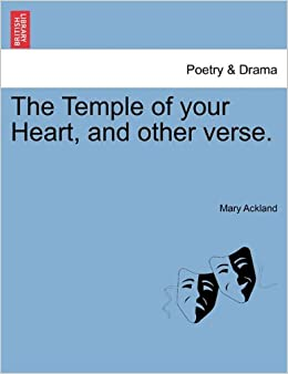 Book The Temple of your Heart, and other verse.
