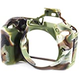 EasyCover Silicone Protective Camera Cover / Case for Nikon D5600 Camouflage