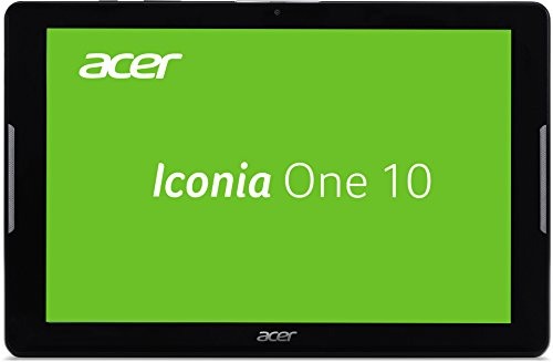Acer Iconia One 10 (B3-A30) 25,7 cm (10,1 Zoll HD) Tablet-PC (MTK MT8163 Quad-Core, 1GB RAM, 16GB eMMC, Android 6.0 Marshmallow) schwarz