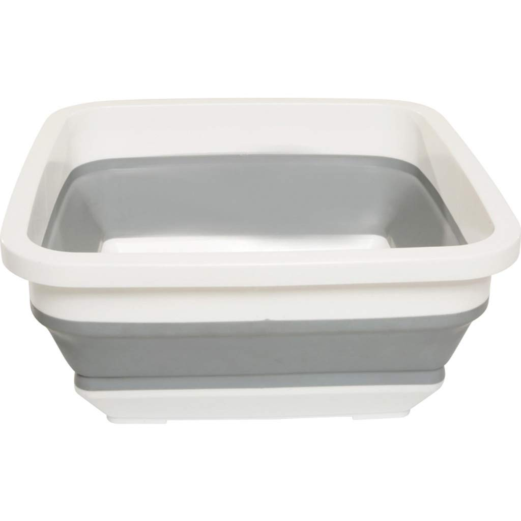 Vanities Folding Washbasin - Square Washbasin - Home Travel Portable Car Container by Vanities