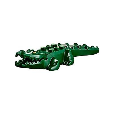 LEGO Minifigure Animal - Crocodile Alligator Green: Toys & Games