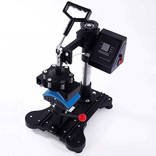 Marketworldcup Electronic Digital Transfer Cap Hat Heat Press Machine DIY Print Pattern 110V