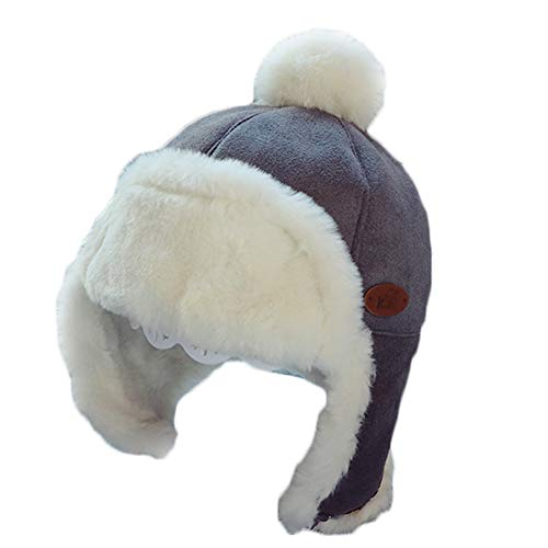 - Dai Mai Winter Hats Kids Aviator Earflaps Cap Winter Bomber Hats Lei Feng Caps Ski Thickened Cold-Resistant Snow
