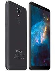 Cubot NOVA 4G-LTE Dual SIM Smartphone ohne Vertrag 5.5 Zoll (18:9) IPS HD Touch Display Android 8,1 3GB RAM+16GB ROM 13MP+8MP Kamera 0.1s Fingerprint Sensor Handy Schwarz