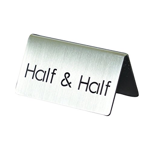 Service Ideas 1C-BF-HALF&HALF-MOD ID Tent''Half & Half'', Brushed by Service Ideas