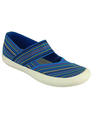 Cotswold Chedworth Señoras Verano Zapatos Damas Zapatos Calzado Textil Turquoise