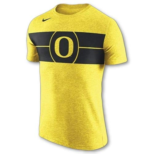 Nike Oregon Ducks Basketball Tri-Blend Logo T-Shirt (Medium) ()