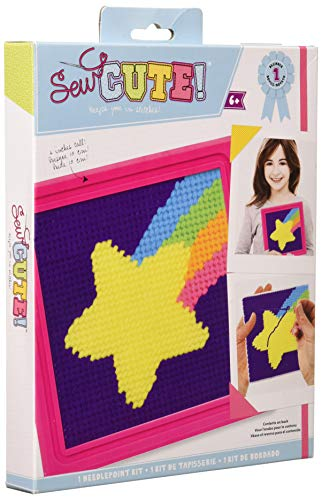 ColorBok 71926 Sew Cute Shooting Star Needlepoint Kit, Multicolor ()
