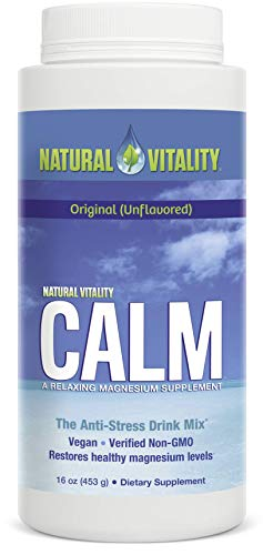 Natural Vitality Calm, The Anti-Stress Dietary Supplement Powder, Unflavored - 16 Ounces