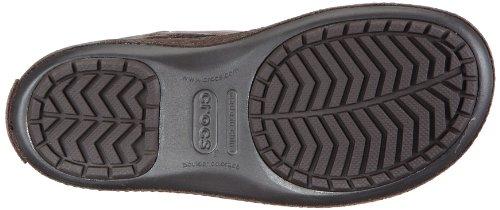 Crocs Berryessa Tall Suede Boot - Botas planas, color: Marrón Marrone (Espresso/Espresso)