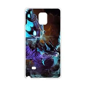 Samsung Galaxy Note 4 White phone case Abaddon Dota 2 DOT4184983