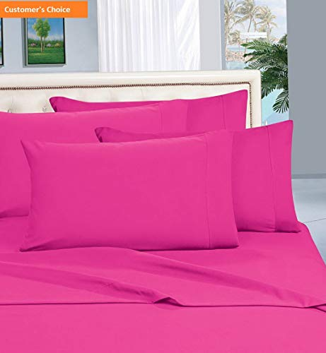 Mikash New Soft Luxurious Amazon 1500 Thread Count Hotel Quality Wrinkle,Fade and Stain Resistant 4-Piece Bed Sheet Set, Deep Pocket Hot Pink California King   Style - Dora Adventure Globe