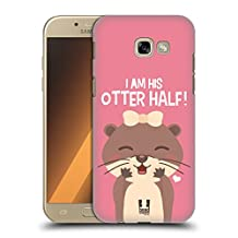 Head Case Designs Female Blush My Significant Otter Hard Back Case for Samsung Galaxy A5 (2017)