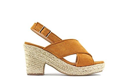 MODELISA Women's Fashion Sandals Camel