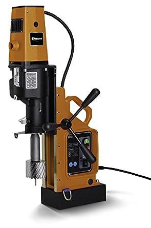 "Jancy 4x4 Portable Magnetic-Base Drill, 120V, 11.7 Amp Motor, 4"" Diameter x 3"" Depth Capacity"
