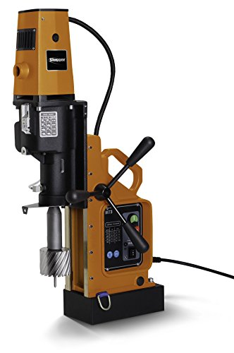 Jancy 4x4 Portable Magnetic-Base Drill, 120V, 11.7 Amp Motor, 4'' Diameter x 3'' Depth Capacity by Jancy Engineering Company