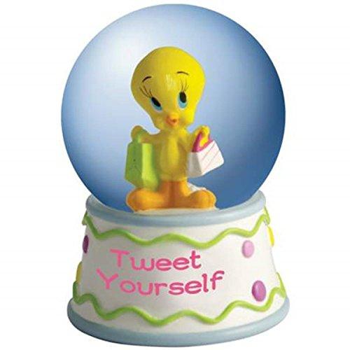WL SS-WL-13980 45mm Globe Tweet Yourself Tweety Bird Looney Tunes Figurine Statue