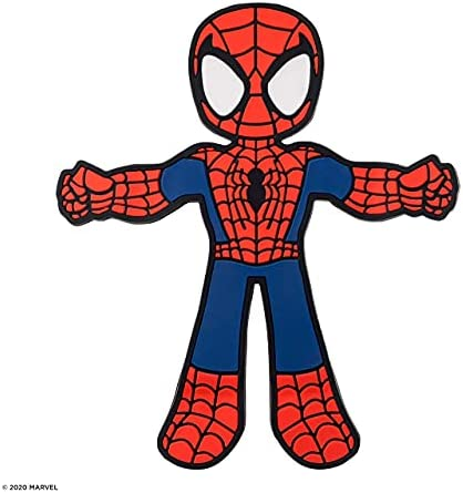 Spider-Man Hug Buddy Air Vent Car Phone Holder, Adjustable, Universal Fit, Cell Phone Mount with iPhone, Samsung Galaxy, LG, Google, Pixel, Moto, Black and Other Smartphones