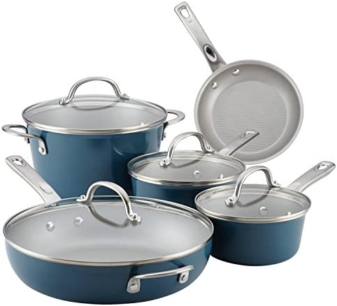 Ayesha Collection Porcelain Nonstick Cookware product image