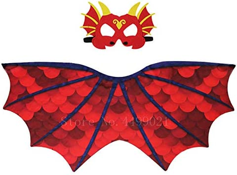 FUPOA Disfraz de dragón de fantasía para niños Disfraz de Fiesta ...