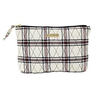 Quilted Plaid Handbag - 3