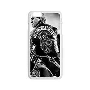Lucky Sons Of Anarchy Fashion Comstom Plastic case cover For Iphone 6