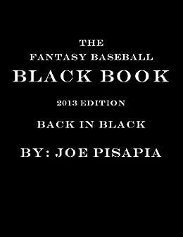 Amazon com: The Fantasy Baseball Black Book 2013 Edition (NEW 2104