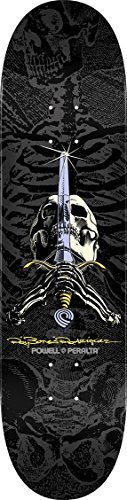 Powell-Peralta Ray Rodriguez Skull & Sword Popsicle Shape Grey/black - Ray Bones Rodriguez