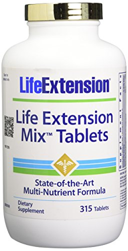 Life Extension Mix Tablets, 315 Count