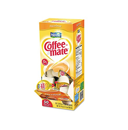 Nestle Coffee-mate Liquid Creamer Hazelnut 3-pack;50 Count Each.