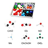 Molecule Model Kit (240 pieces) ,Advanced Chemistry Set with Instructional Guide - Chemistry Structure Kit for Chemistry Teachers, Students and Young Scientists with Atoms, Bonds & Orbitals molecule sets