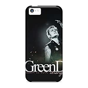 Iphone 5c LlZ15878MXXu Customized Colorful Green Day Image Shock-Absorbing Hard Cell-phone Cases -SherriFakhry