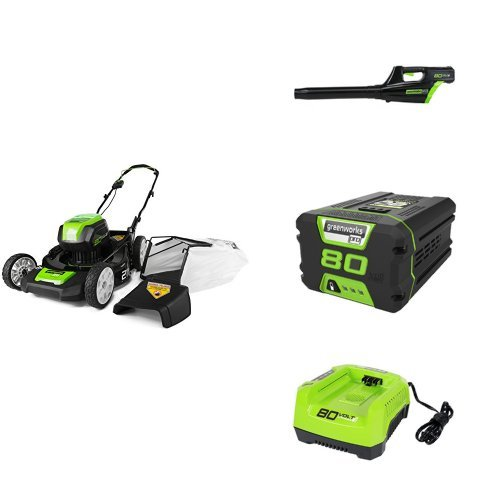 GreenWorks Pro 80V Model Electric Lawn Mower Review