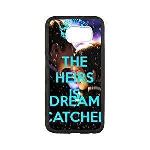 Samsung Galaxy S6 Cell Phone Case White Keep Calm Dream Catch VTO Cell Phone Case Protective 3D