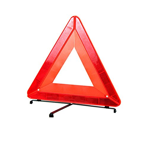 Big Hippo Panneau d'avertissement de sécurité pliable pour voiture-Triangle d'avertissement réfléchissant universel