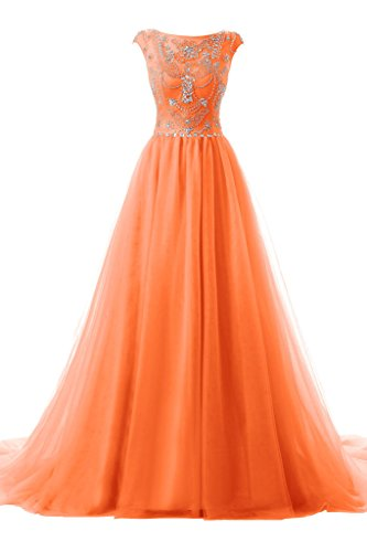 topdress-womens-cap-sleeve-beaded-long-evening-dress-tulle-prom-dresses-orange-us-2