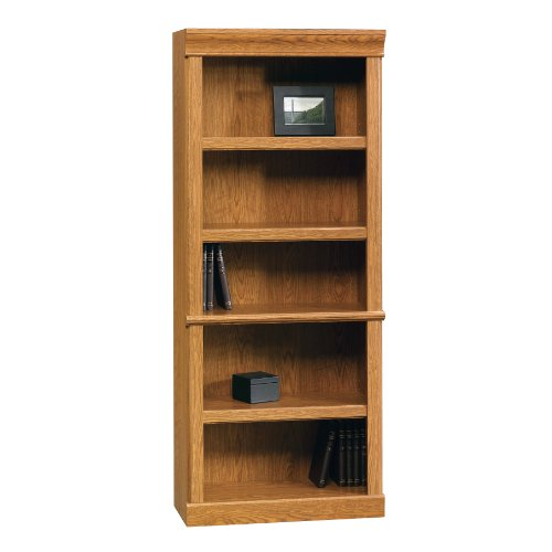 "Sauder 402172 Orchard Hills Library, L: 29.45"" x W: 13.47"" x H: 71.50"", Carolina Oak finish"